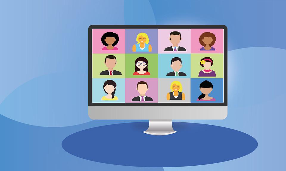 Videoconferencia, Pc, Equipo De Negocios, Digital, Zoom